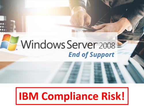IBM License Compliance Risk with Windows Server 2008